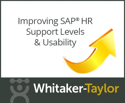 Improving SAP HR Support Levels & Usability