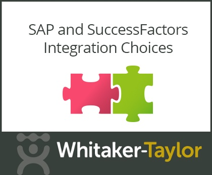 SAP and SuccessFactors Integration Choices